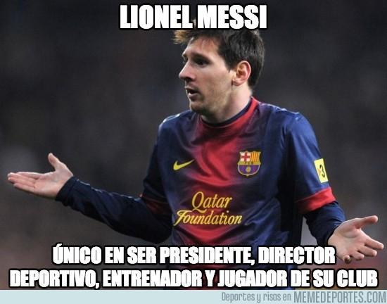 167845 - Lionel Messi, todo en uno