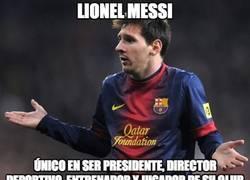 Enlace a Lionel Messi, todo en uno