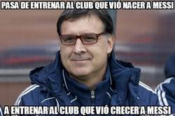 Enlace a Pasa de entrenar al club que vió nacer a Messi