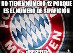 Enlace a El Bayern de Munich no tiene número 12