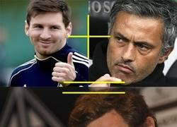 Enlace a Messi + Mourinho...
