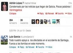 Enlace a El deporte muestra su apoyo al accidente en Santiago [Parte 1]