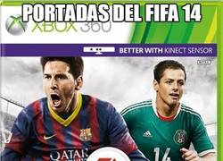 Enlace a Portadas del Fifa 14 en sus diferentes versiones por territorios, ¿cuál te gusta más?