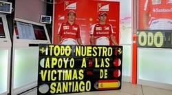 Enlace a Desde la Fórmula 1 también envían todo el apoyo