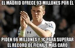 Enlace a El Madrid ofrece 93 millones por Bale