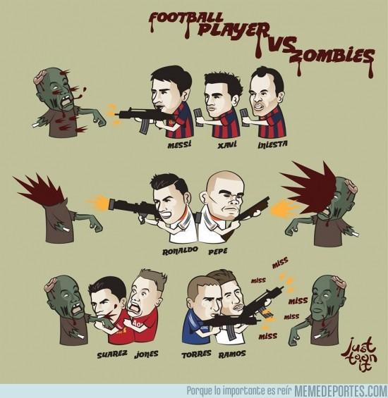 169289 - Zombies vs jugadores de fútbol