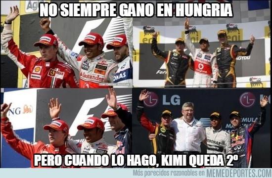 169763 - Kimi y su persistencia por el segundo puesto en Hungría