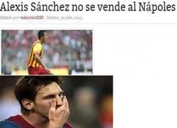 Enlace a Alexis no se vende al Napoli