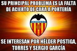 Enlace a Creo que el Valencia no ha entendido muy bien su problema