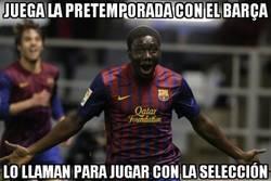 Enlace a Dongou sacándole partido de verdad a la pretemporada con el Barça