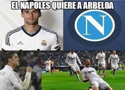 Enlace a El Napoli quiere a Arbeloa