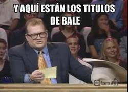 Enlace a Los títulos de Bale por el momento