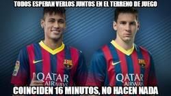 Enlace a Messi y Neymar ya han coincidido en el campo