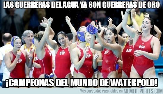 171872 - ¡Enhorabuena al equipo femenino español de Waterpolo!
