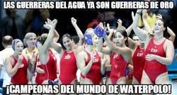 Enlace a ¡Enhorabuena al equipo femenino español de Waterpolo!