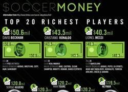 Enlace a Dinero en el fútbol