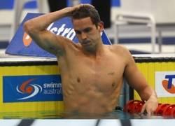 Enlace a Nadadores y su manía de tatuarse los aros olímpicos