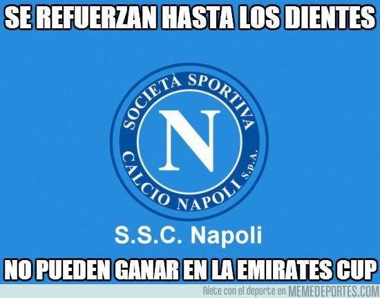 172345 - Igual es que todavía se están adaptando, pero de momento el Napoli no está demostrando mucho