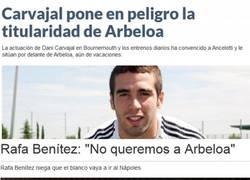 Enlace a Nadie quiere a Arbeloa