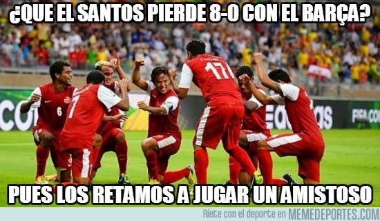 172509 - ¿Que el Santos pierde 8-0 con el Barça?