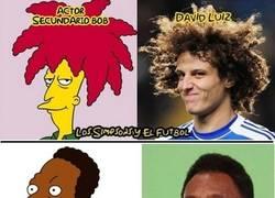 Enlace a Los Simpsons y el fútbol, parecidos razonables