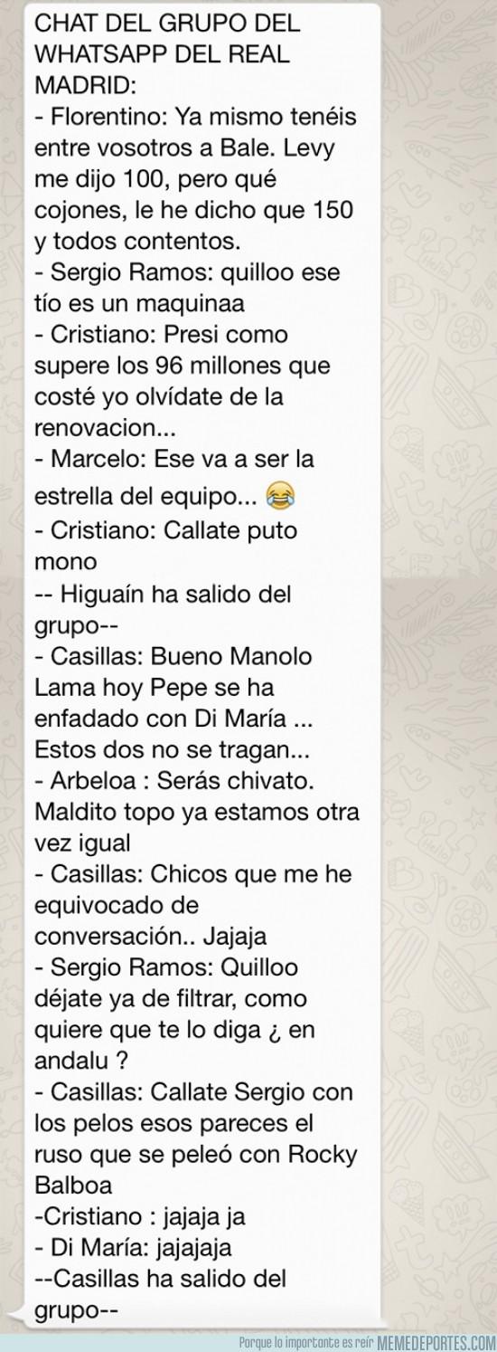 172616 - Filtrada conversación de WhatsApp del Real Madrid, el Topo ha vuelto