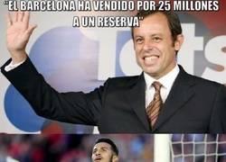 Enlace a Rosell vende al futuro del Barça y todavía dice que fue un gran negocio