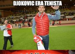Enlace a Djokovic era tenista