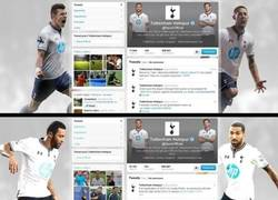 Enlace a Borran a Bale del Twitter del Tottenham. ¿Estará al caer?