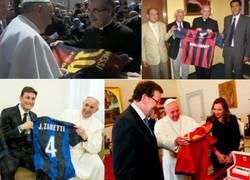 Enlace a El Papa es más chaquetero que Ibra