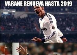 Enlace a Varane renueva hasta 2019