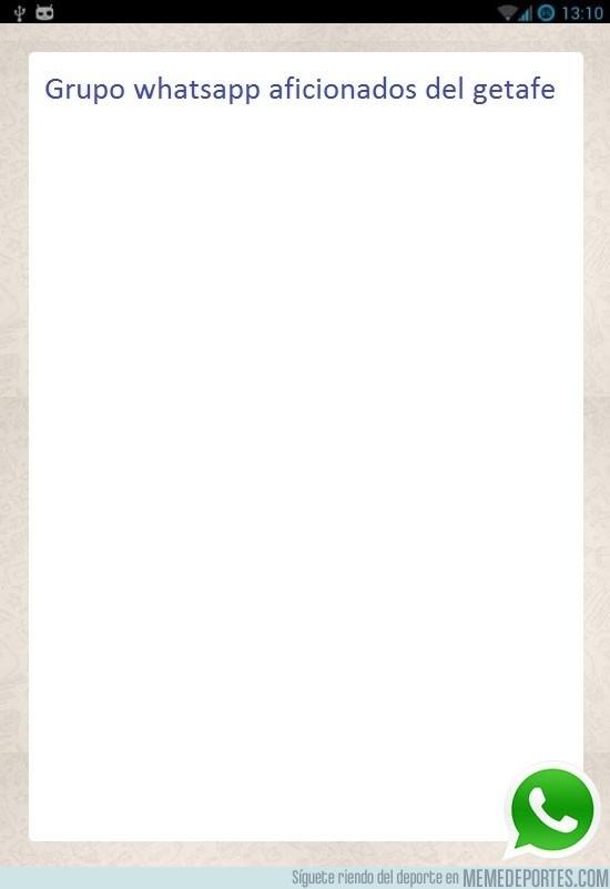 174121 - Whatsapp de aficionados del Getafe
