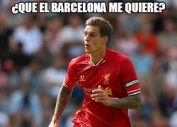 Enlace a ¿Que el Barcelona me quiere?