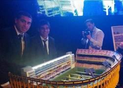 Enlace a La Bombonera, versión Futbolín