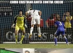 Enlace a Mesi y Cristiano vs Cech