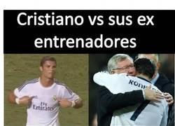 Enlace a Cristiano vs sus antiguos entrenadores