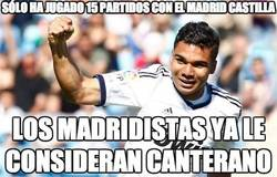 Enlace a Sólo ha jugado 15 partidos con el Madrid Castilla