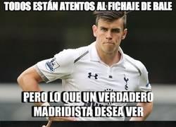 Enlace a Todos están atentos al fichaje de Bale