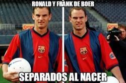 Enlace a Ronald y Frank de Boer