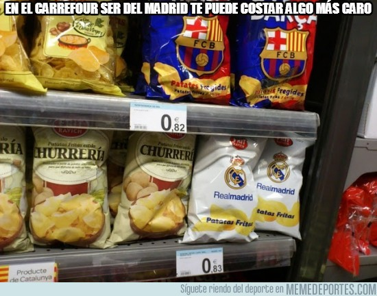 175587 - En el Carrefour ser del Madrid te puede costar algo más caro