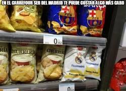 Enlace a En el Carrefour ser del Madrid te puede costar algo más caro