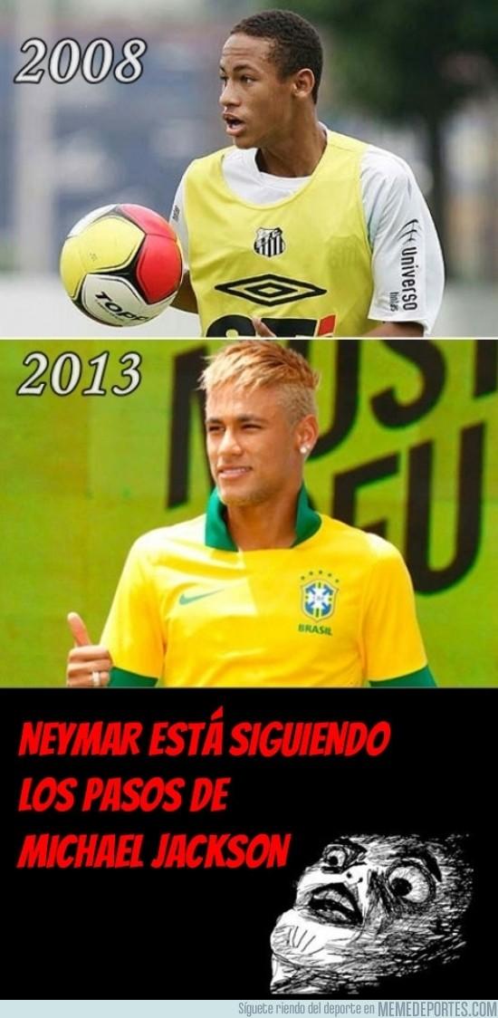 175923 - Neymar siguiendo los pasos de Michael Jackson
