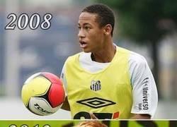 Enlace a Neymar siguiendo los pasos de Michael Jackson