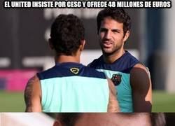 Enlace a El United insiste por Cesc y ofrece 48 millones de euros