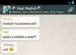 Enlace a Grupo de Whatsapp del Real Madrid