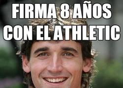 Enlace a Firma 8 años con el Athletic de Bilbao