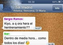 Enlace a Whatsapp Real Madrid