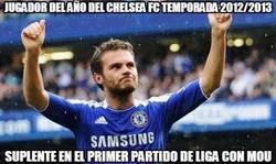 Enlace a Jugador del año del Chelsea temporada 2012/2013
