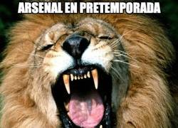 Enlace a Arsenal en pretemporada