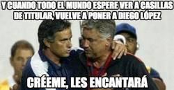 Enlace a Y cuando todo el mundo espere ver a Casillas de titular, vuelve a poner a Diego López